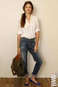 A perfect Sunday style look    theglitterguide:    (via fashion / Madewell, Spring 2012)