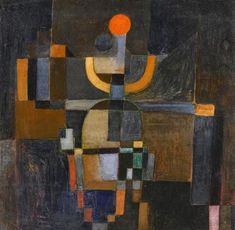 1922, Paul Klee (Münchenbuchsee, Switzerland 1879-1940): Oracle.