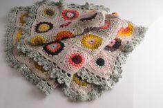Sunburst Granny Blanket-not a free pattern