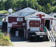 Gotta visit the Lobster Shacks in Maine.. here are 10 of the best... pic of Shaw's Fish & Lobster Wharf, New Harbor
