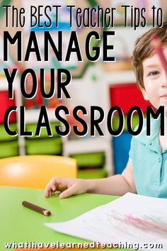 What are your tried and true classroom management strategies that work across most grade levels? These are some of teachers'' favorite classroom management strategies as they take little effort to implement and are a foundation to a good relationship with students. Teaching Kindergarten, Teaching Tips, Teacher Hacks, Best Teacher, Character Education Lessons, Education Week, Education Reform, Growth Mindset For Kids, Classroom Management Strategies