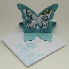 Butterfly easel cards