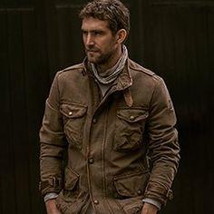 Journey Jacket by Belstaff Ukraine, Vietnam, Belstaff Jackets, Waxed Cotton Jacket, Backpacking Asia, Twill Shirt, Biker Style, Sales And Marketing, Gentleman Style