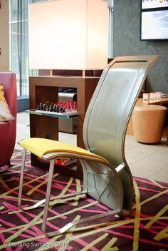 ARI Char. Thermoformed Corian furniture.