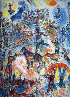 Marc Chagall, Il grande circo, 1984 . libreriamo.it