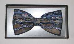 Irish Landscape by Jack Kirwan - PAINTED BOWTIE Irish Landscape, Bows, Hand Painted, Bow Ties, Artist, Painting, Trends, Accessories, Style