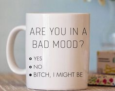 Funny Coffee Mug - Coffee Mug For Her - Funny Mug - Ceramic Coffee Cup - Mugs with Sayings