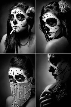Female Face Painting