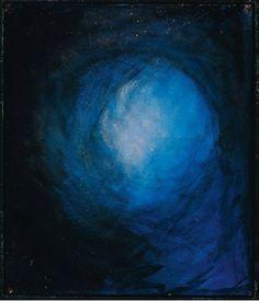"Mikalojus Konstantinas Čiurlionis, ""La Création du monde II"" (1905-1906) Waves, Abstract, Painting, Outdoor, Art, Summary, Outdoors, Art Background, Painting Art"