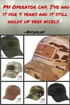 Tactical Operator Cap Ballcap Baseball Cap Hat Black Softshell Rothco 9729