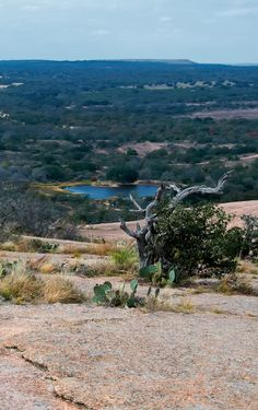 Enchanted Rock. 15 miles North of Fredericksburg, Texas. Been there done that!