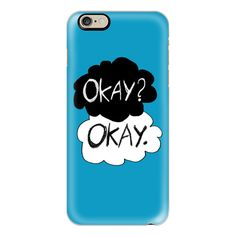 iPhone 6 Plus/6/5/5s/5c Case - Okay? Okay  - The Fault In our Stars ($40) ❤ liked on Polyvore featuring accessories, tech accessories, iphone case, apple iphone cases, slim iphone case and iphone cover case