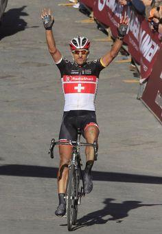 Spartacus wins Strade Bianche 2012.