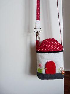 mini house purse
