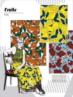 Prints & More Trendbook A/W - Prints & More is an ideal addition to colour and theme forecasts for everybody working with high-fashion printed patterns - thus in the fields of textile printi Textile Prints, Textile Patterns, Textile Design, Color Patterns, Print Patterns, Textiles, Pattern Designs, 2020 Fashion Trends, Fashion 2020