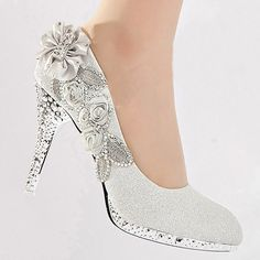 sparkly wedding shoes bridal