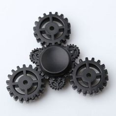 Gear Anti Stress Triangle EDC Fidget Spinner