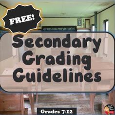 Grading Guidelines for the Secondary Teacher This 5-page document reviews research-based grading guidelines for the secondary teacher.  Topics covered: • Grading Scale • Formative and Summative Assessment (definitions and recommended grading percentages) • Components of Quality Assessment • Homework (Types and Time Allotted for Homework Recommendations) • Mastery of Standards Over Time • The…