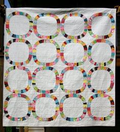 Jessica Kovach's beautiful single girl quilt (using denise schmidt's pattern) from the modern quilt guild blog.