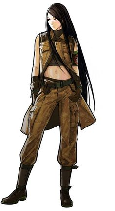 Lin -  Advance Wars: Days of Ruin, artist Ryo Hirata