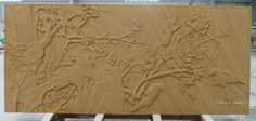 Natural sandstone 3d feature carved tile can give your building wall more elegance.