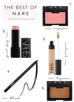 These are the BEST Nars products for every skintone!