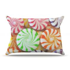 "Libertad Leal ""I Want Candy"" Pillow Case"