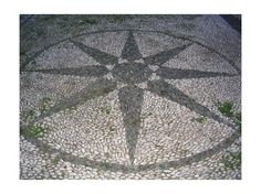 """""""Stone mosaic compass"""" Spetses Island Things to Do Tip by janetanne"""