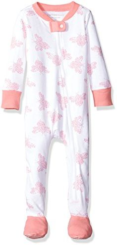 Burts Bees Baby Organic Zip Front Sleeper Lily Snuggle Bee 36 Months >>> More info could be found at the image url.(It is Amazon affiliate link) #onedirection