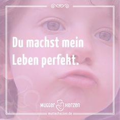 Mehr schöne Sprüche auf: www.mutterherzen.de  #kinderwunsch #traum #wunsch #schwangerschaft #leben #wunder #perfekt