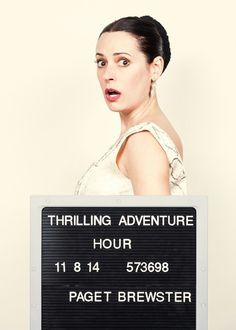 Paget Brewster @Thrilling Adv Roman Cho photo