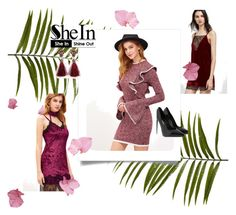 """Shein 9/ II"" by ajisa-ikanovic ❤ liked on Polyvore featuring Yves Saint Laurent and Pier 1 Imports"