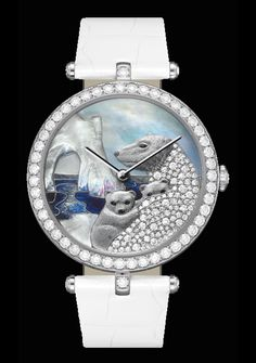 Van Cleef & Arpels polar bear watch