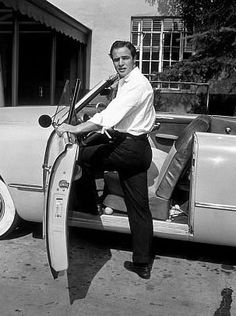 With my Ford in 1951.