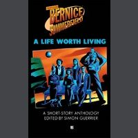 Bernice on the cover of the BF anthology A Life Worth Living.