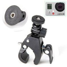Amazon.com: EEEKit for GoPro Hero 1/2/3 Accessory Bundle, Bike Bicycle Motorcycle Handle Bar Mount for Cameras with 1/4 20 Screw Thread + Go...