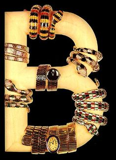 The History & Present Of High Jewelry & Fine Watchmaking For Ladies By Bulgari Featured Articles Vintage Branding, Vintage Ads, Jewellery Advertising, Bulgari Jewelry, Bvlgari Serpenti, Year Of The Snake, Italian Jewelry, High Jewelry, Snake Jewelry