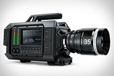 BLACKMAGIC URSA 4K DIGITAL FILM CAMERA: If youre ready to upgrade your subpar video kit — whether youve been shooting on your trusty DSLR, or your iPhone — consider the Blackmagic URSA 4K Digital Film Camera. This incredibly feature-full camera kit packs an entire filming studio into one device, letting you shoot freely while monitoring video, audio, and more, all from the convenience of several built-in LCD screens.