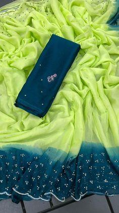 Organza Dress, Organza Saree, Chiffon Saree, Silk Sarees, Pattu Sarees Wedding, Bridal Lehenga, Saree Blouse Patterns, Saree Blouse Designs, Cotton Sarees Online Shopping