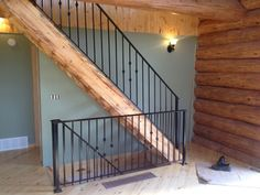 Custom Built Wrought Iron Steel Railings, Handrails, Metal Pickets indoor, outdoor for sale - Babin Ironworks your custom railing builder. Shop with Babin Ironworks and purchase your railing from the masters.