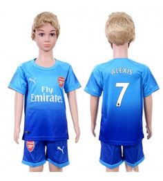 Arsenal Alexis Sanchez 7 Bortaställ Barn 17-18 Kortärmad Arsenal Fc, Manchester United, Premier League, Chelsea, Onesies, Rompers, Mens Tops, Kids, T Shirt