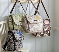 Petunia Pickle Bottom Backpack Diaper Bags, boxy