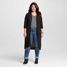 Women's Textured Open Cardigan - Ava & Viv™ : Target