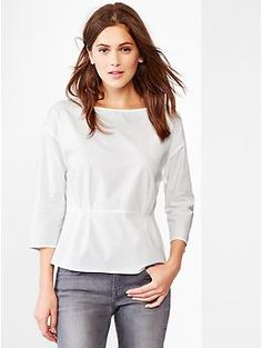 I own this top and love it.  Comfortable, casual yet classy and 'go anywhere'