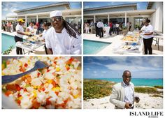 Darell Forbes, owner of Sunset Beach Bar on South Caicos, catered the groundbreaking event with the NILA Destinations team from Providenciales.  www.islandlifeandtimes.com #turks #caicos #turksandcaicos