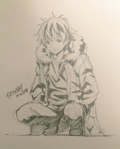 Kazuma et Yukine dessiné par @pikapi_n, directeur...