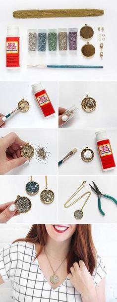 DIY Shining Pendant