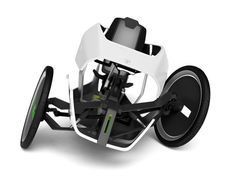 Elegante y deportivo, este triciclo reclinado llamado Predator HPV incluye un motor eléctrico y una carrocería aerodinámica.