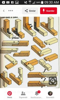 Woodworking Joints, Woodworking Projects Diy, Wood Projects, Woodshop Tools, Wood Joints, Campervan Interior, Boat Interior, Wood Tree, Wood Design