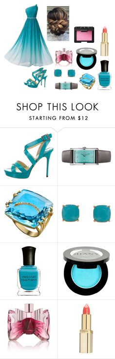 """""""Breezy Beach Day"""" by honeychique on Polyvore featuring Jimmy Choo, Tiffany & Co., Humble Chic, Deborah Lippmann, Shany, Viktor & Rolf, L'Oréal Paris and NARS Cosmetics"""